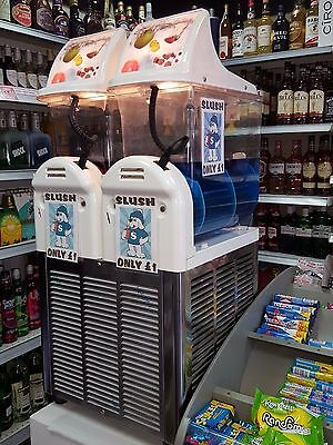 SLUSH MACHINE - FREE LOAN TO RETAILERS ON PROFIT SHARE west midlands & worcester