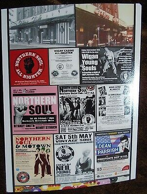 Northern Soul Various Promotional Posters Montage A4 Print