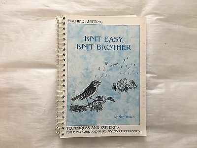 Knit easy Knit Brother, Knitting Book