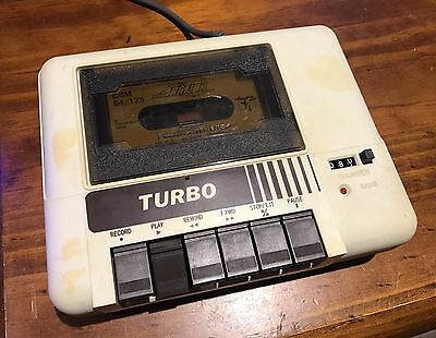 Dragon TURBO Datacorder For Commodore 64 / 128 w/ Game - World Class Leaderboard