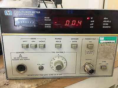 EX MOD AGILENT HP 436A POWER METER HF 50GHz  Opt: 022