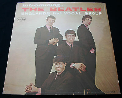 "BEATLES ""INTRODUCING THE BEATLES"" 1st. MONO! AUTHENTIC ""TITLES BACK"" COVER! NM!"