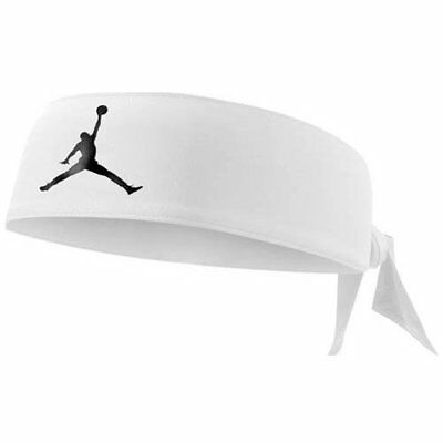 NIKE JORDAN DRI-FIT Headband Head Tie, White
