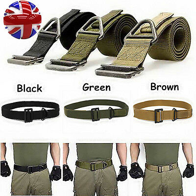 CQB Military Army Tactical Police Security Webbing Belt UK STOCK