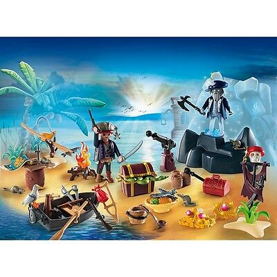 "Playmobil® Adventskalender ""Geheimnisvolle Piratenschatzinsel"" 6625"