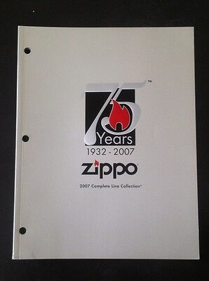 Catalogue Zippo 2007 Complete Line Collection