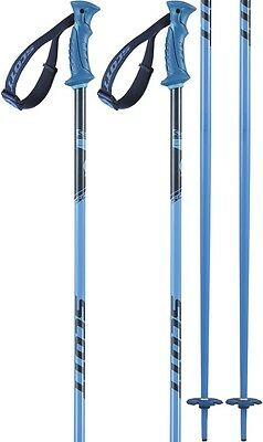 Scott 720 Pair Of Ski Poles 130cm Black/Blue