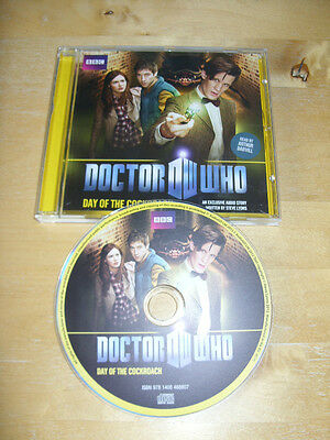 Doctor Who - Day Of The Cockroach - Bbc Audio Cd   *free Uk P&p*