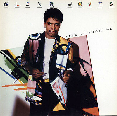 Glenn Jones : Take It From Me LP (1986) (BUY 3 LPs PAY FOR ONLY 2)