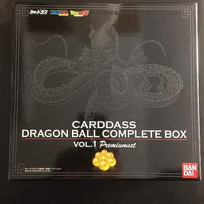 BANDAI DRAGON BALL Carddass Complete Box vol.1 Premium Set Limited F/S