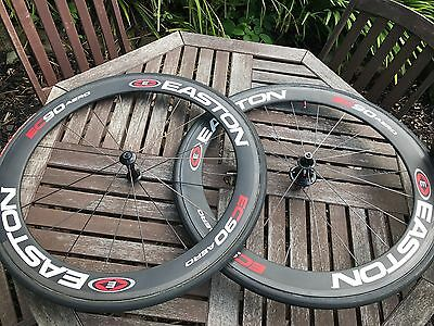 Easton EC90 Aero Wheelset (Campag 10/11sp) Tubular