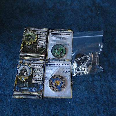 Privateer Press Kickstarter Exclusive Commander Sturgis & the Corrupted w/coins