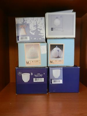 Lot of 6 Lladro Christmas Bells Balls and Cups in Original Boxes • $24.99