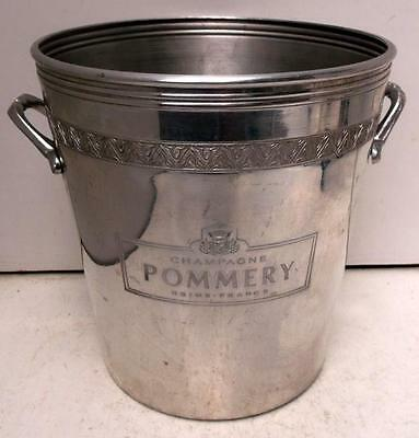 Pommery Aluminium Champagne Ice Bucket Cooler #B 2nd of 2