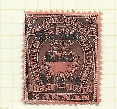 Kenya, Uganda and Tanganyika 189 5 British East Africa 3 annas black/red mint