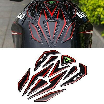 Kawasaki Ninja Universal Reflective Decal - Tank Decals 3D Motorcycle Decals