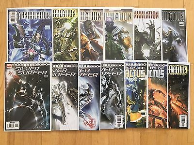 Marvel Annihilation #0-6, Silver Surfer #1-4, Heralds of Galactus #1-2