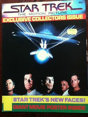 Official Star Trek The Motion Picture Poster 1979