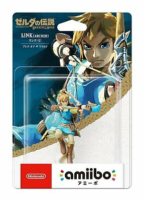 Nintendo Amiibo Link Archer Breath of the Wild The Legend of Zelda Series Figure