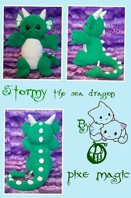 Stormy The Sea Dragon