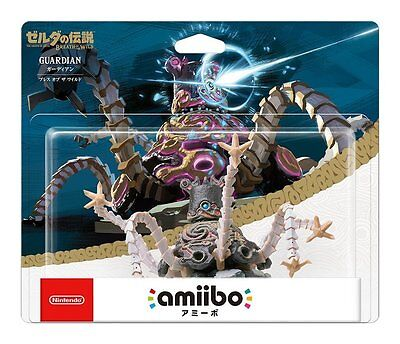 Nintendo Amiibo Guardian Breath of the Wild The Legend of Zelda Series Figure