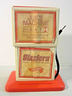 Vintage 1969 Mattel HOT WHEELS Sizzlers Juice Machine Car Power Charger