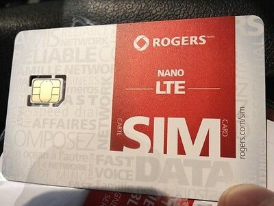100 for $299.99 Rogers Nano Sim Cards