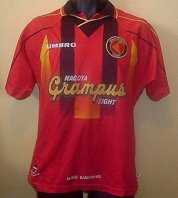 Official NAGOYA GRAMPUS EIGHT 8 J League Home Shirt 1996-1998 (S)