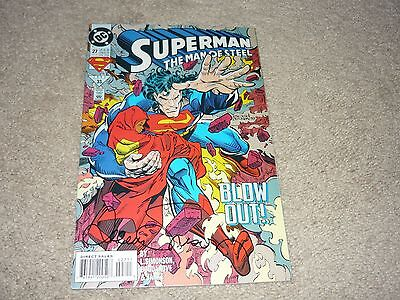 Superman The Man of Steel #27 Signed by Louise Simonson  DC COMICS 1993 • $1.49