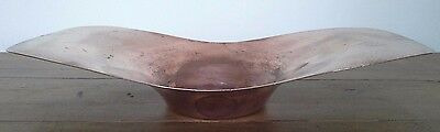 vintage copper fruit bowl, copper, metalware, kichenalia, antique