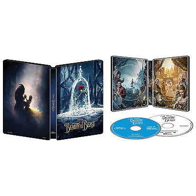 Beauty and the Beast Collectible Steelbook - Live Action [Blu-ray DVD, Best Buy]