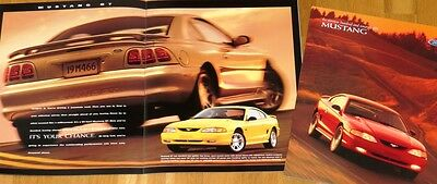 1998 Ford Mustang Brochure - 26 pages - MINT