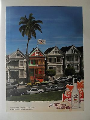 2009 Print Ad Malibu Rum ~ Get Your Island On Decorated House