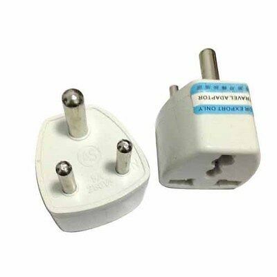 Travel Charger Converter BS 546 India To EU AU US AS UK Adapter plug Universal