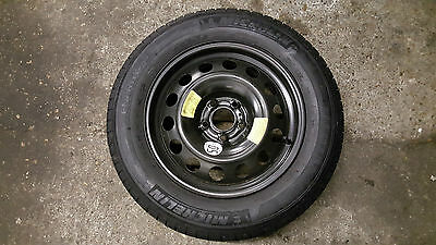"""PEUGEOT 508  16"""" Full Size Spare Steel Wheel and Michelin Tyre 215/60/16 New"""