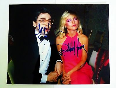 Blondie - Autographed Photo of Debbie Harry and Chris Stein