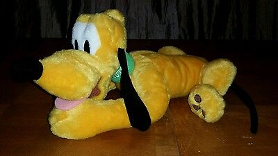 Disney Store Exclusive Authentic Original Pluto Plush Toy -- 16 inches