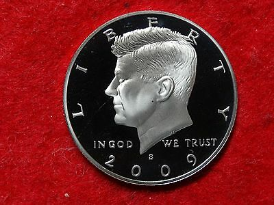 2009 S KENNEDY FROSTY PROOF 90% SILVER DEEP CAMEO GEM  HALF DOLLAR   #9R us half dollar