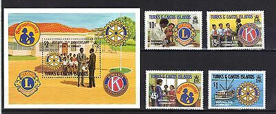 Turks & Caicos Islands. Serving The Community 1980 Mnh