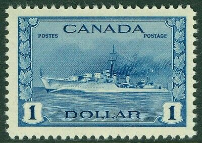 EDW1949SELL : CANADA 1942-43 Scott #262 Extra Fine, Mint Never Hinged. Cat $100
