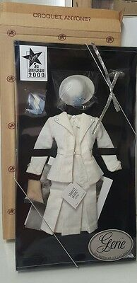 """Gene Marshall """"Croquet, Anyone?"""" Outfit and Croquet set"""