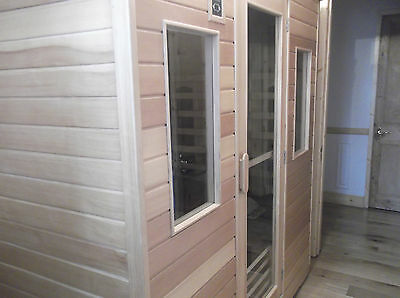 Infrared Sauna SaunaMed 4 to 6 person, 8 heater