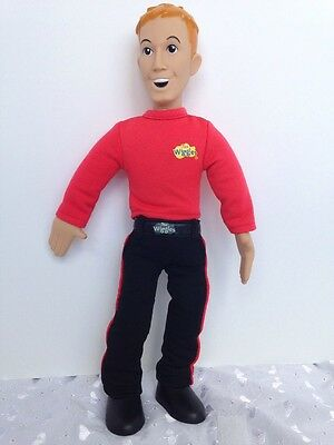 The Wiggles Talking Doll Figure Pink Murray Singing Works Great 2003 Spin Master