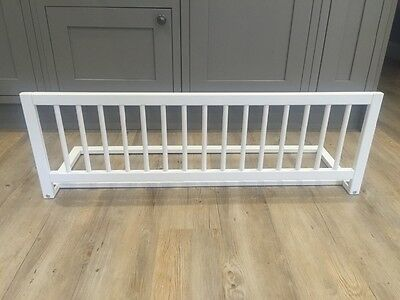 Safetots White Wooden Bed Guard