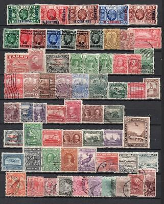 Commonwealth Queen Victoria to King George V MM Used on Stockcard See Scans C17