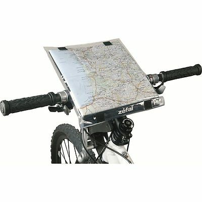 Zefal Doomap Bike Handle Bar Mounted Waterproof Map Holder RRP £11.99