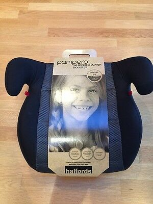 Halfords Pampero child booster car seat Group 2 - 3 , 15 - 36 kgs , 4 - 12 years