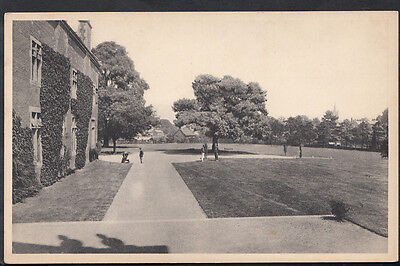 Hertfordshire Postcard - Bishops Stortford College, View From Steps  U4388