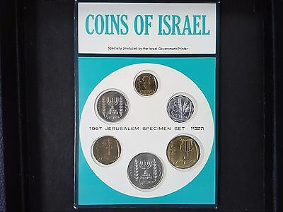 Israel1967 Mint Set  Great Gift Item For Any Collector  Ships Free In Usa!