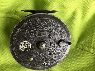 """Vintage Rapidex J.W.Youngs 4"""" Centrepin Fishing Reel"""